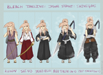 Bleach AU: Jewel's Shinigami Timeline by Chicky--poo