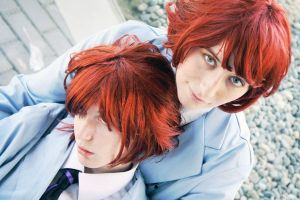 Ouran High - The Twins by mintifresh
