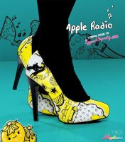 Yellow Radio Pump Promo by marywinkler