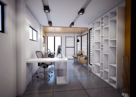 interior of my office (proposal) 2 by davens07