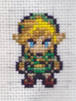 Link Cross Stitch by RetroStitch