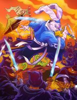Usagi Yojimbo 30th Anniversary by eldeivi