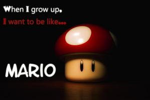 When I Grow Up - Mario by RedSoul77