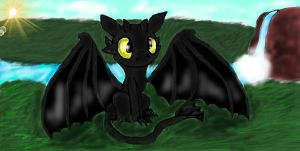 HTTYD:Toothless by PlagueDogs123