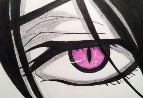Sebastian's Demon Eye (Black Butler) by kdc27