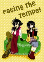Eating the Tempe - Cover by saphi-saphi