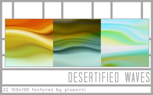 Desertified Waves by plumerri