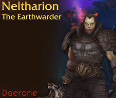 Neltharion, The Earthwarder by Daerone
