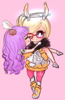Tera - Fuschia and Chipori by xMayuu