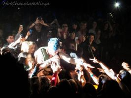 Face the Music: Josh in the audience by HotChocolateNinja