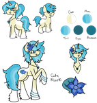 Ocean Breeze Reference Sheet by TaylortheSnailor