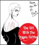 The Girl With The Dragon Tattoo by Pchoberry