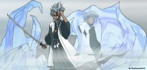 Hitsugaya Toushiro - Hollow by DeathscytheVII