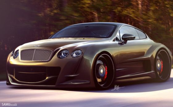 Bentley Continental by SaMuVT