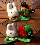 Totoro Pencil Reservoirs by Plushbox