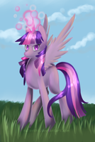 Twilight Sparkle Painting by Nalenthi