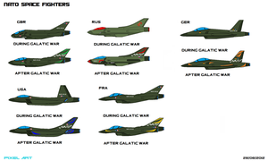 Nato Fighters by Luckymarine577