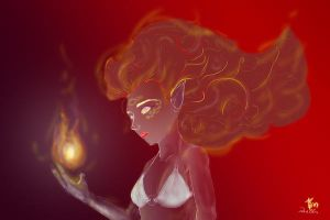 Syhro's Fireball by tolemach