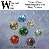 Fried Marble Wire Wrap Jewelry Dvd Design by Create-A-Pendant