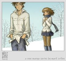 Miki and Hiro in the Snow by markcrilley