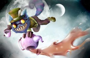 Mad Cheschire Ziggs hatter by Jutchy