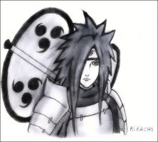 Uchiha Madara by Bleach9
