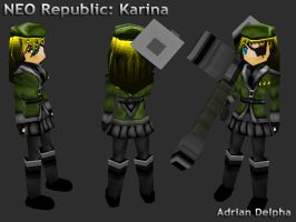 NEO Republic: Karina by DelphaDesign