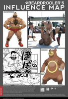 My Influence Map by beardrooler