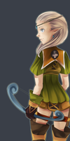 Dragon Nest Archer by ASTROcapsule