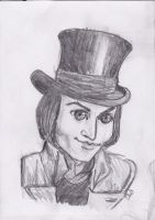 Willy Wonka Charlie and the Chocolate Factory by roseriddle447
