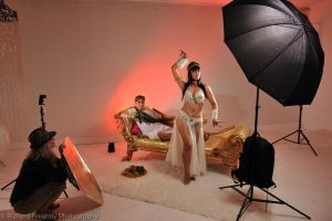 Cleopatra setup shot by RichardKnightly