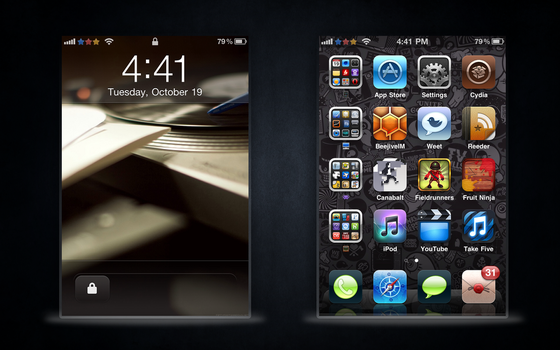 First iPhone 4 Screenshot by JonathanfromUPR