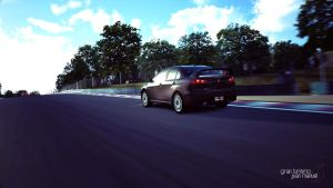 Gran Turismo 6 - Lancer Evolution X GSR by kios