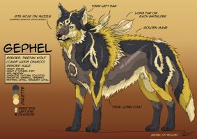 Gephel Reference Sheet by Fealoki