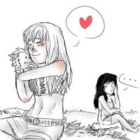 R2- Jealous Xena by dashyice