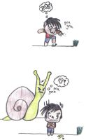 Chibi - Snail Attack by Mr-Lays