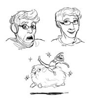 The Faces of Markiplier by BuddhatheBob
