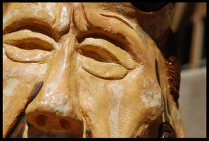 The Face Vase : The Old Man by quie-tone