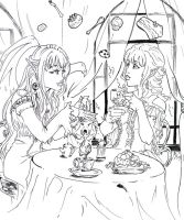 Magic Tea Party by Linyaen