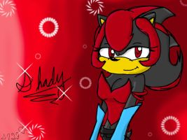 Shady the Hedgehog -art trade by Sonica123
