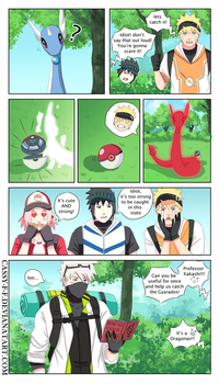 Naruto x PokemonGo crossover Part 2 by Cassy-F-E