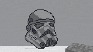 Minecraft - Stormtrooper by shadex00x