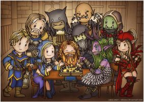 Hearthstone by Isriana