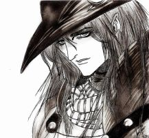 Vampire Hunter D - Foreground- by GeeHBerserk