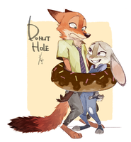 Donut Hole by Ganym0