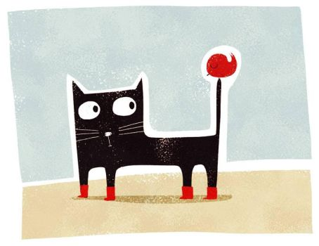 Just a cat, with boots by nicolas-gouny-art