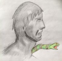 The Man and His Snake by TheOtherKilroy