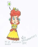 Daisy in fairlyoddparentsxp's style by PrincessDaisyRocks10