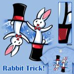 Rabbit Trick by amegoddess