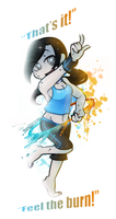 Wii Fit Trainer by GeekyKitten64